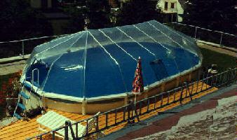 Above Ground Oval Pool Domes