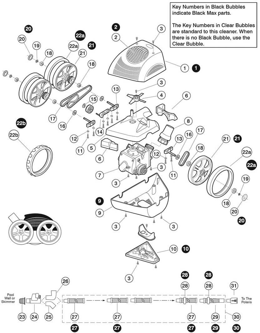 Polaris Atv 340 Replacement Parts