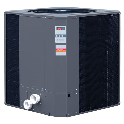 Raypak R8450ti-E-HC 140,000 BTU Heat Pump Digital Titanium - Heat/Cool