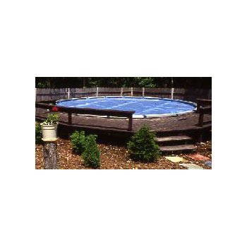 15' Round Blue Above Ground Pool Solar Blanket - 3yr Warranty