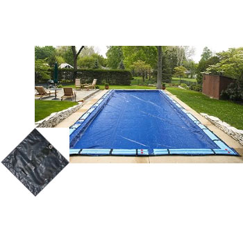 12' x 20' Rect Arctic Armor Bronze Winter In-ground Pool Cover 8yr