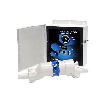 Hayward Aquatrol Above Ground Salt Chlorine Generator - Hose/Pipe Fittings/TwistLoc