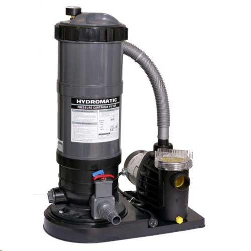 Hydro 120 sq. ft. Cartridge Filter System with 1½ hp Pump