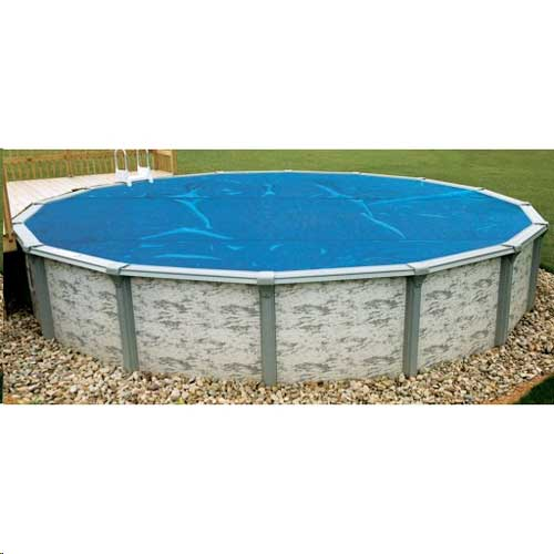 24' Round Blue Above Ground Pool Solar Blanket - 3yr Warranty