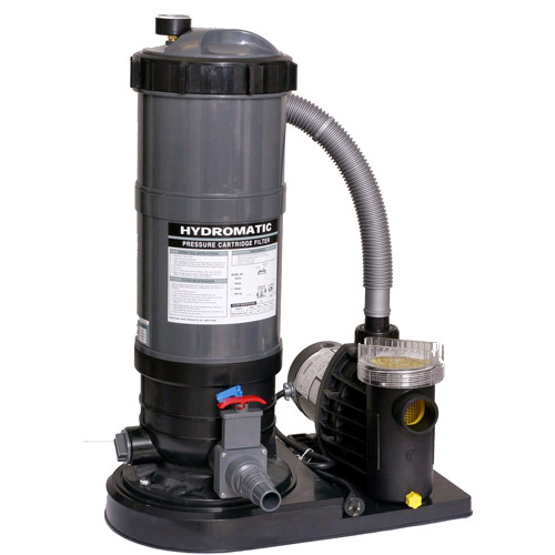 Hydro 90 sq. ft. Cartridge Filter System with 1 hp Pump