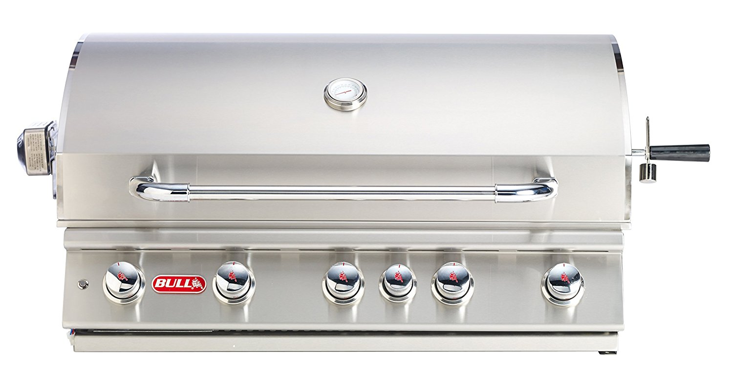 Bull Brahma 38 5 Burner Built In Stainless Natural Gas