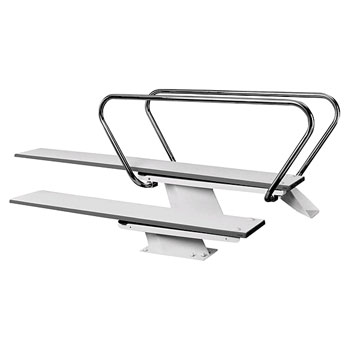 1/2 Meter Steel Stand for 10' Diving Board
