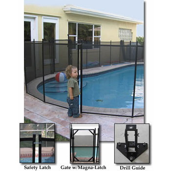 Drilling Guide for Removeable Safety Fence