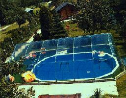16u0027 X 32u0027 Rectangle Inground Pool Dome