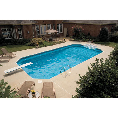 16 X 32 Grecian Inground Polymer Pool Package