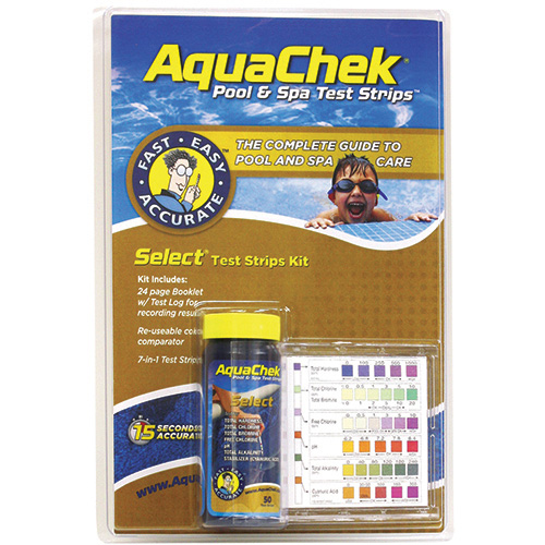 AquaChek Select Gold Test Strips w/Book