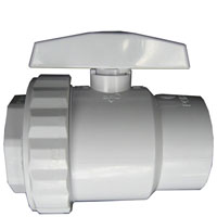 Hayward SP-722 2 Way Ball Valve 1 1/2 FIP Material: ABS
