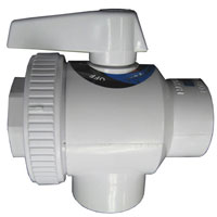 Hayward SP-735 4 Way Ball Valve 1 1/2 female threaded Material: ABS
