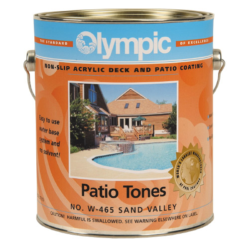 Patio Tones Acrylic Deck Coating - 1 Gallon - Champagne