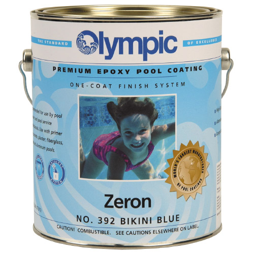 Zeron Heavy Duty One Coat Epoxy Pool Paint 1 Gallon