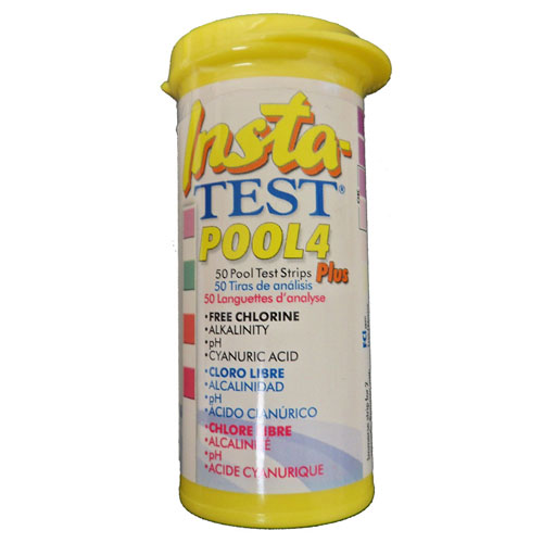 Lamotte Insta-TEST Pool 4 Plus - 50 Test Strips
