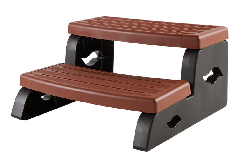 DuraStep II Spa Step - Redwood