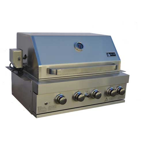 Mont Alpi 400 4 Burner Stainless Steel Built-In Grill