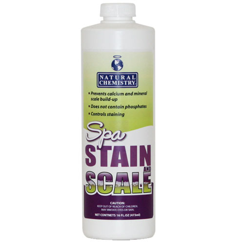 Natural Chemistry Spa Stain & Scale Free - 16oz