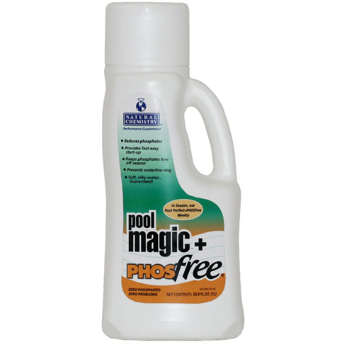 Natural Chemistry Pool Magic & Phos Free - 1 Liter
