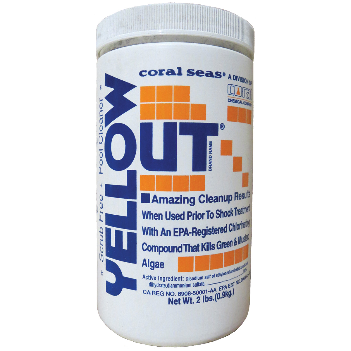 Yellow Out Pool Algaecide - 2lbs