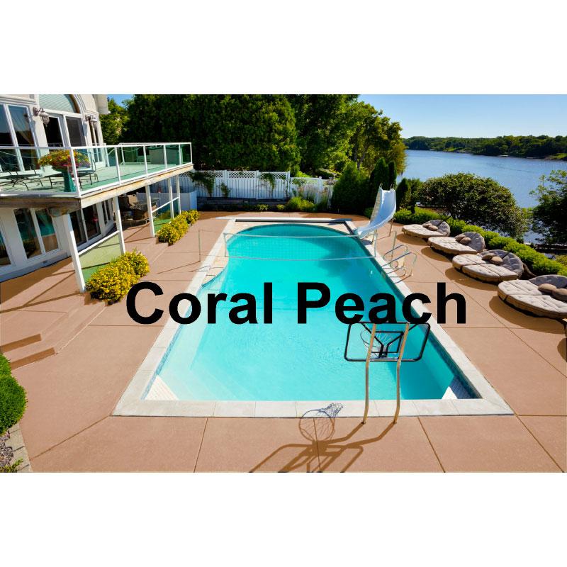 Deck Kote Acrylic Waterbase Deck Paint 1 Gallon Coral