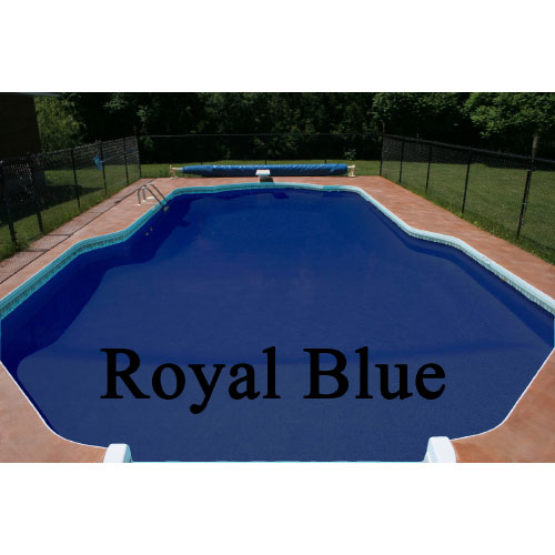 Pool Shield CRX Chlorinated Rubber Pool Paint - 1 Gallon Royal Blue