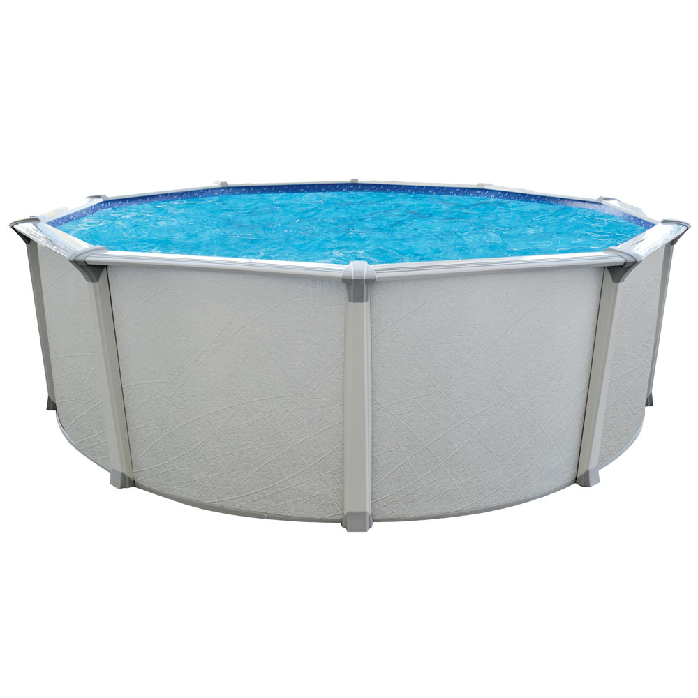 Ocean Mist Premium 24 Round Above Ground Pool Package