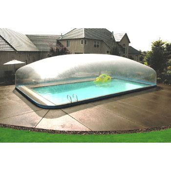 19\' x 32\' Plastimayd Inground Pool Dome - For In-Ground up to 12\' x 26\'