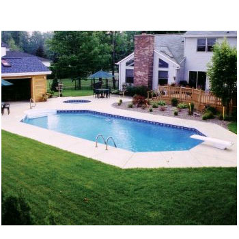 In ground pools in ground pool kits 206 x 406 steel grecian inground swimming pool kit solutioingenieria Image collections