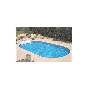 18 X 36 Steel Oval Inground Swimming Pool Kit Nb5111