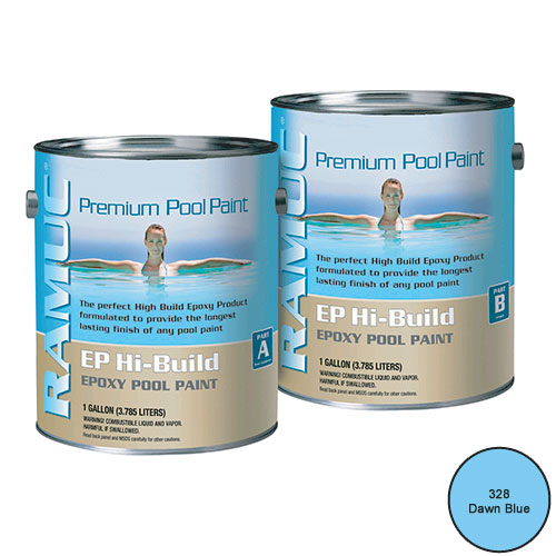 Ramuc Ep Hi Build Epoxy Swimming Pool Paint 2 Gallon Kit