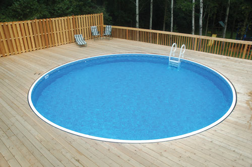 Rockwood 15' Round On Ground Pool Package
