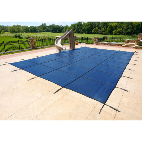 12' x 20' Rectangle 12yr Mesh Safety Pool Cover - Blue