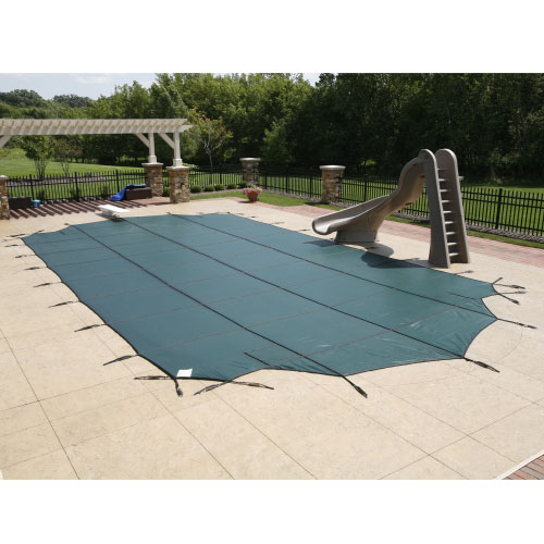 12' x 20' Rectangle 12yr Mesh Safety Pool Cover - Green