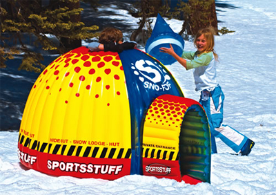 a3457c86a Sportsstuff Inflatable Snow Fort