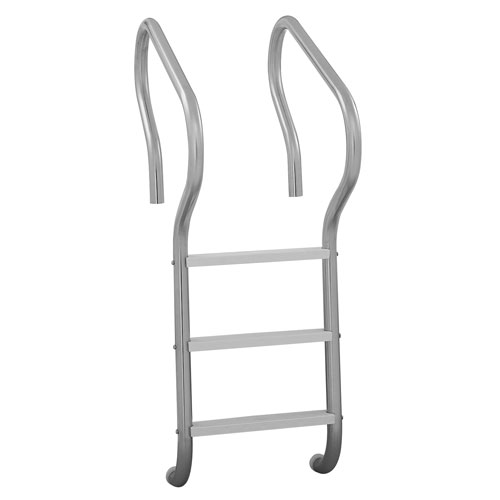 Camelback 3 Step Ladder W/Plastic Steps