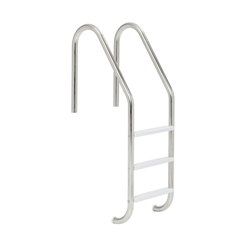 S.R. Smith 3 Step Inground Stainless Steel Pool Ladder - 19