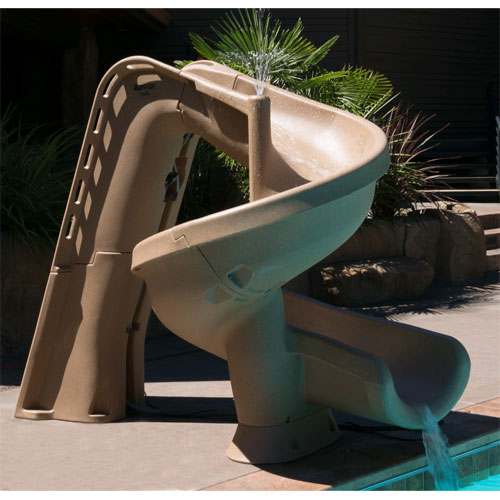 SR Smith Helix Pool Slide - Sandstone