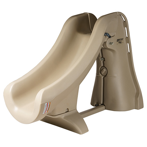 S.R. Smith SlideAway Portable In-Ground Pool Slide - Taupe