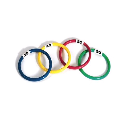 Swimming Pool Dive Rings - 4 Pack