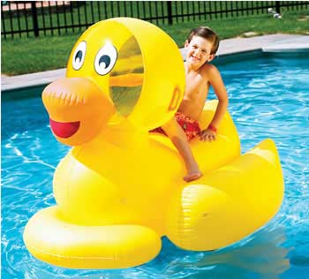 Giant Inflatable Rideable Ducky