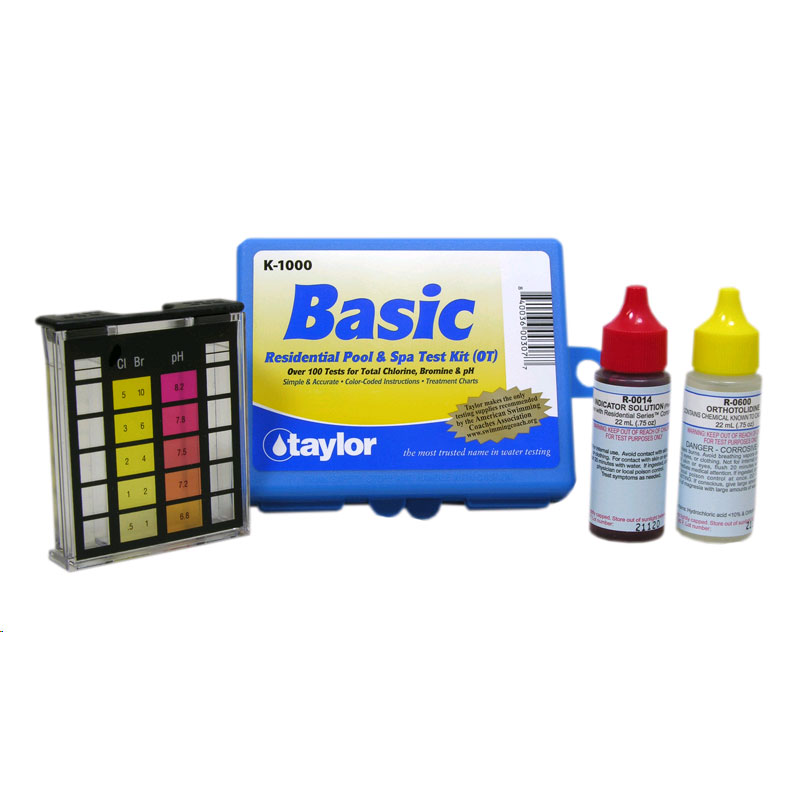 Taylor Basic Residential Pool & Spa Test Kit