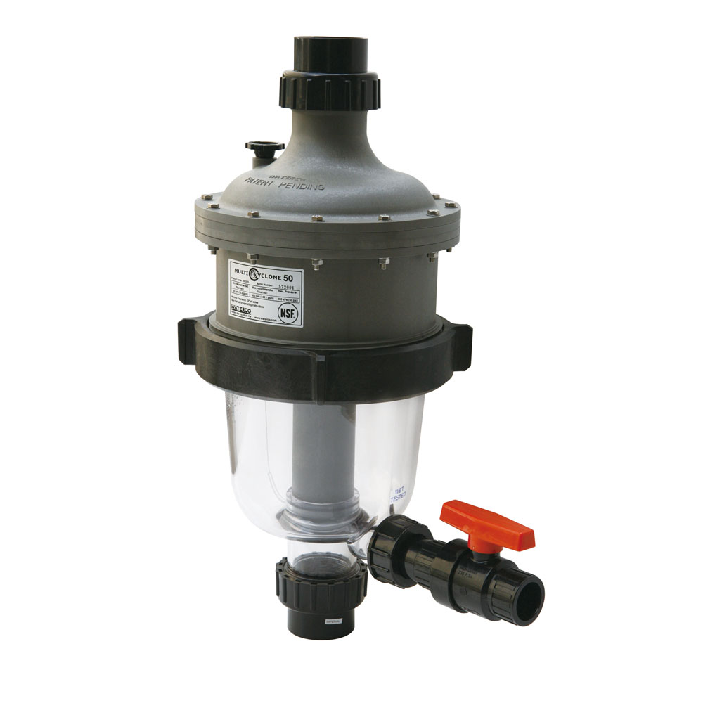 Waterco 200371 MultiCyclone 12 Centrifugal Pre-Filter