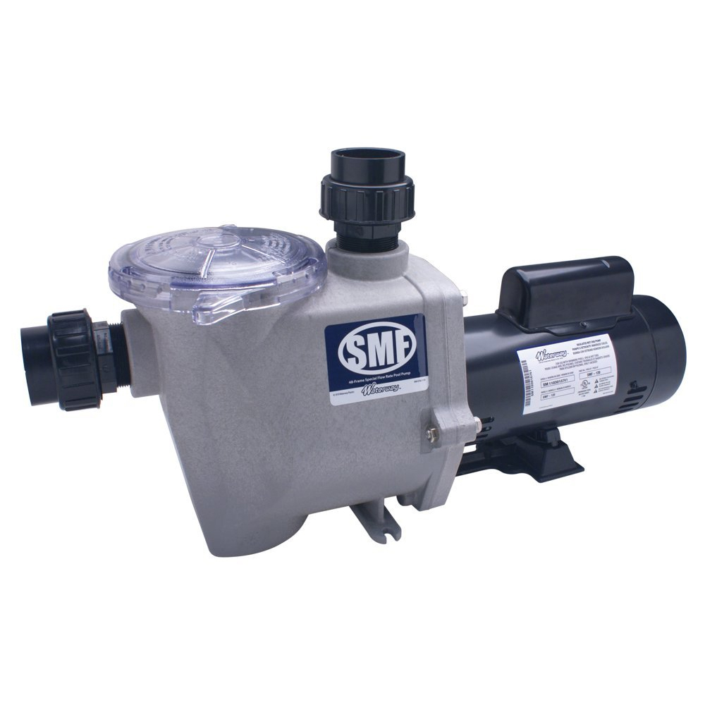 Waterway 3/4 hp SMF In-Ground Swimming Pool Pump - 115/230 volts