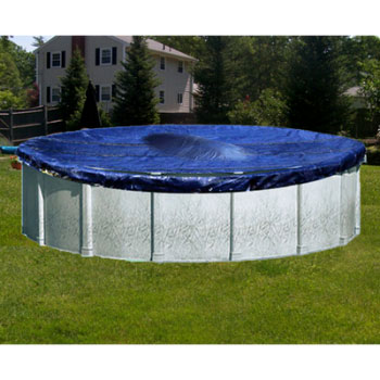 15' Round Deluxe Above Ground Winter Pool Cover - 5yr Warranty