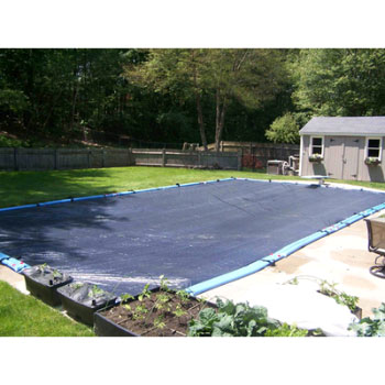 12' x 24' Rectangle Deluxe In-Ground Winter Pool Cover - 5yr Warranty