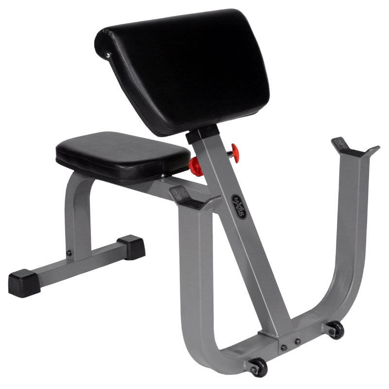XMark Seated Preacher Curl Weight Bench