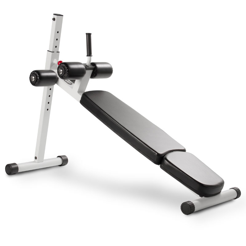 XMark 12 Position Adjustable Ab Bench - White