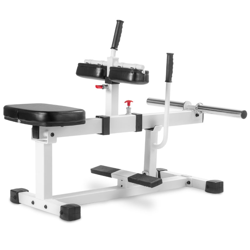 XMark Seated Calf Raise Machine - White